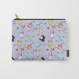 Eeveeloution Pattern Carry-All Pouch
