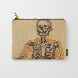 Vintage Human Skeleton Illustration (1887) Carry-All Pouch