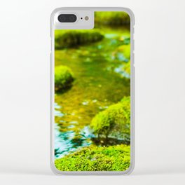 Stepping Stones Clear iPhone Case