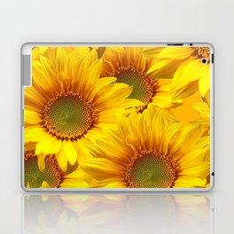 Yellow Mellow Sunflower Bouquet #decor #society6 #buyart Laptop & iPad Skin