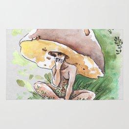 Empire of Mushrooms: Boletus Edulis Rug