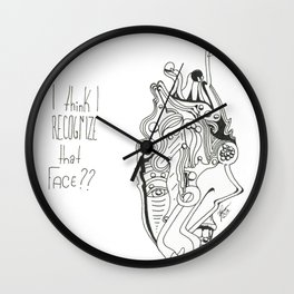 Recognition Wall Clock