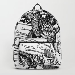 rarely well done Backpack