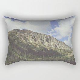 Yellowstone Mountains Rectangular Pillow