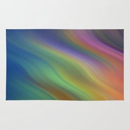Rainbow Colors of the Night Rug