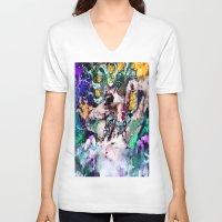 ursula V-neck T-shirts featuring Ursula  by RDsix3