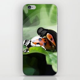The strength of nature iPhone Skin