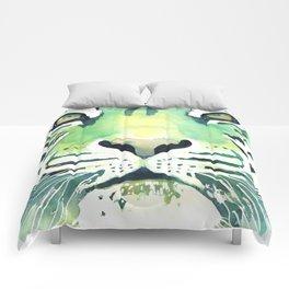 Green Tiger Comforters