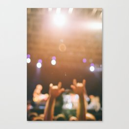 Rock and roll! Canvas Print
