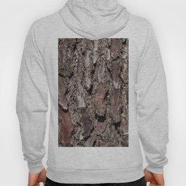 Pine tree bark details Hoody