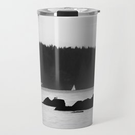 Ferry at the San Juan Islands Travel Mug