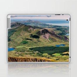 Snowdon Moutain View Laptop & iPad Skin