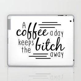 A Coffee A Day Laptop & iPad Skin