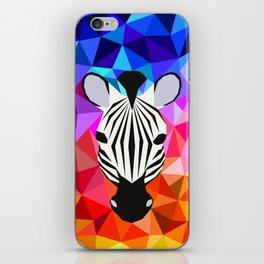 Zebra Dazzle iPhone Skin