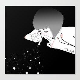 dream addict Canvas Print