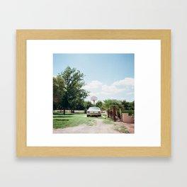 Las Cruses Framed Art Print