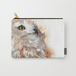 Harfang Owl Carry-All Pouch