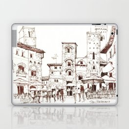 San Gimignano 1 Laptop & iPad Skin