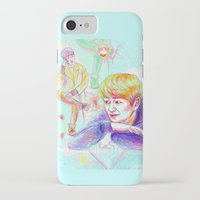 shinee iPhone & iPod Cases featuring SHINee Onew by sophillustration