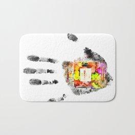 Handprint No 5 Bath Mat