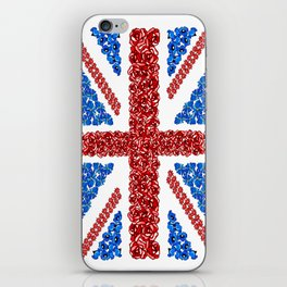 Blooming Brits iPhone Skin