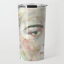 IMMANUEL KANT - watercolor portrait Travel Mug