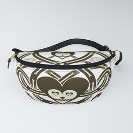 Playing Cards - Heart Fanny Pack
