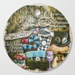 Cheshire Cat Cutting Board