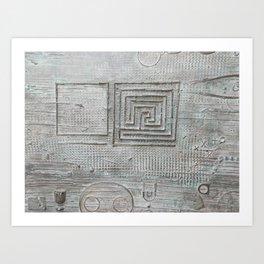 laberinth Art Print