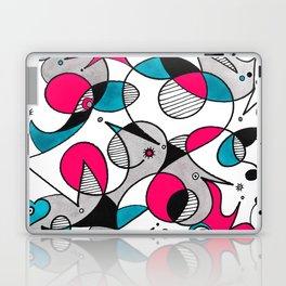 Abstract Birds Laptop & iPad Skin