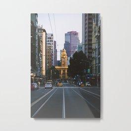 Always Melbourne Metal Print