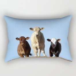 Cow Hill Rectangular Pillow