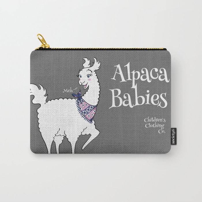 Alpaca Babies Carry-All Pouch