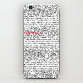 Type: The Raven Cycle iPhone Skin