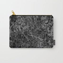 Jakarta Black Map Carry-All Pouch