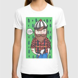 Timber Lumberjack T-shirt