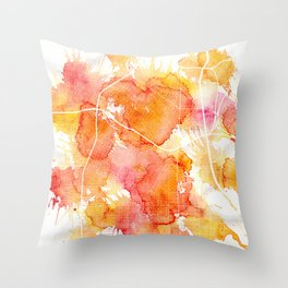 Los Angeles Summer Throw Pillow