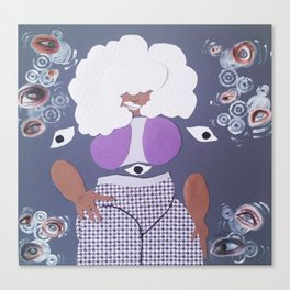 The Eye Witch Canvas Print