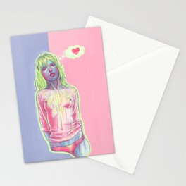 lovely daydreams (M) Stationery Cards