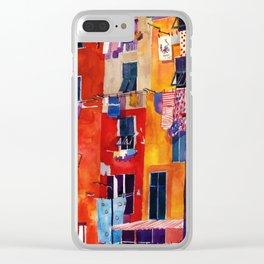 Portovenere Clear iPhone Case