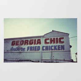 Fried Chicken Rug
