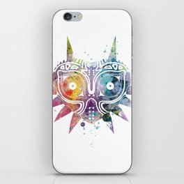 Majoras Mask iPhone Skin