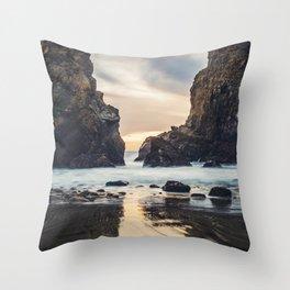 When Ocean Dreams Throw Pillow