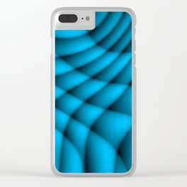 Glowing Flow7851 Clear iPhone Case