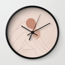 Warming my Heart Wall Clock