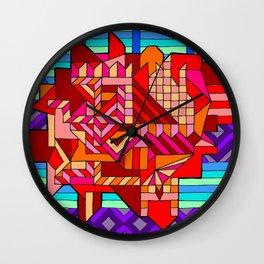 ROBOTIC HEART Wall Clock