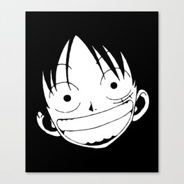Rufy Luffy One Piece Canvas Print
