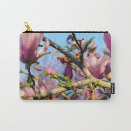 Bright Blooms Carry-All Pouch