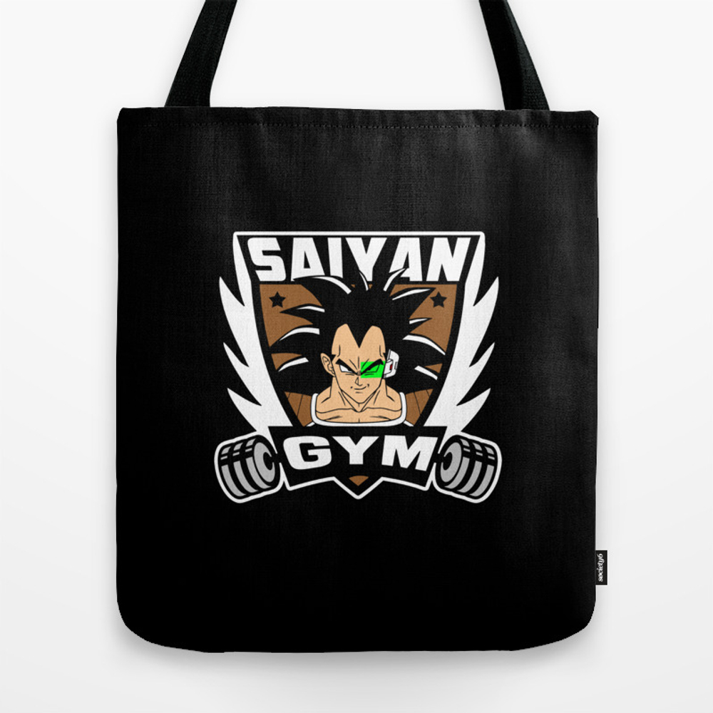 Anime Gym Brother Version Tote Bag by Buby87 TBG8749433