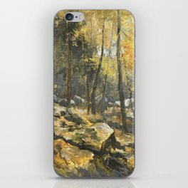 Autumn Forest Painting iPhone Skin